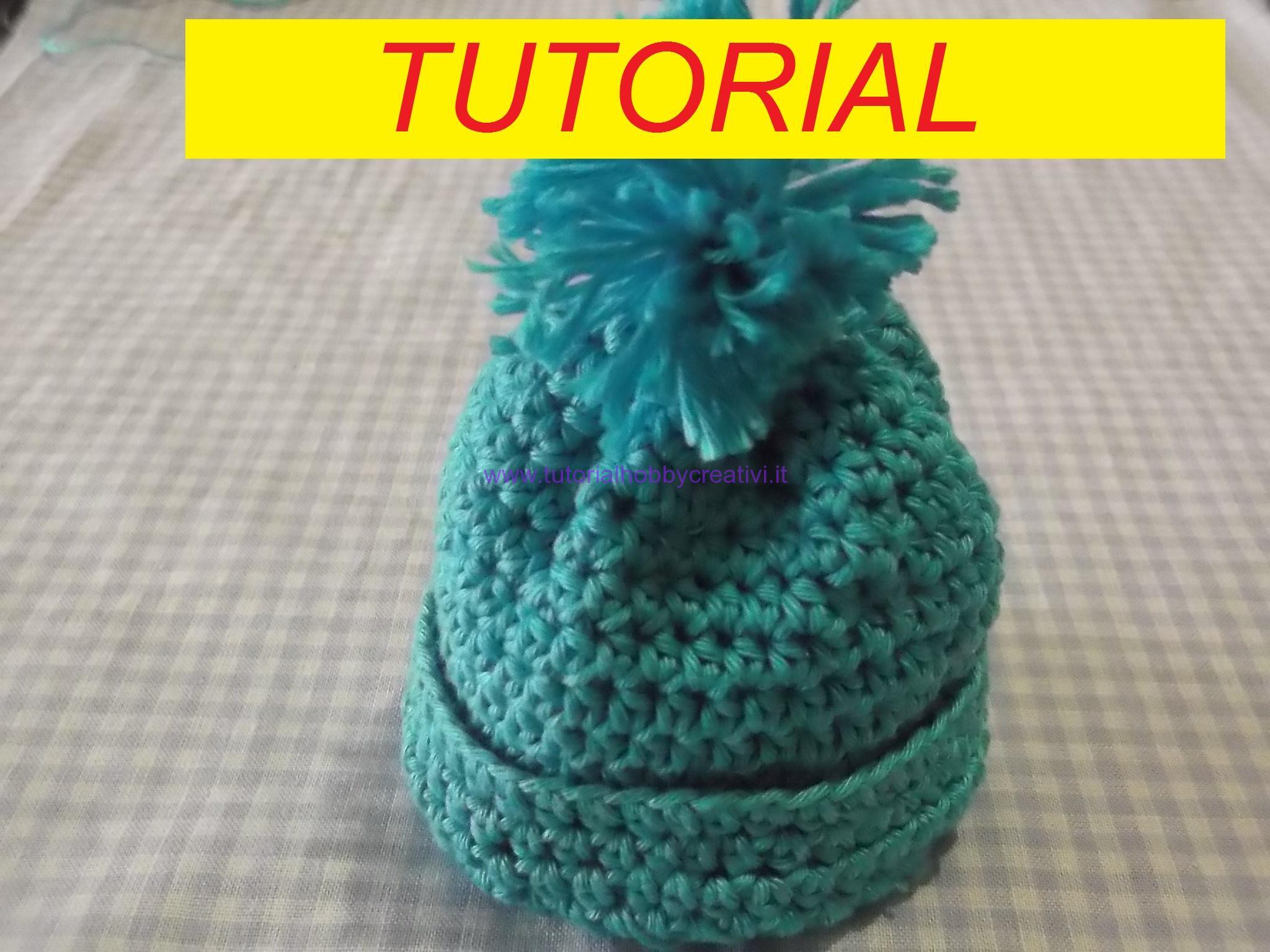 Tutorial Per Realizzare Un Mini Cappello Con Pon Pon Portaconfetti