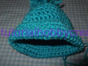 Tutorial mini cappellino con pon-pon portaconfetti (5)