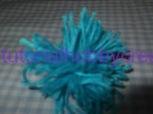 Tutorial mini cappellino con pon-pon portaconfetti (9)