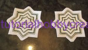 Tutorial per realizzare un biscornu a forma di stella in tela aida (4)