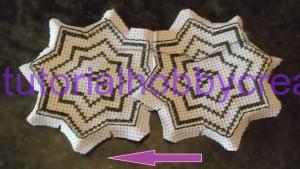 Tutorial per realizzare un biscornu a forma di stella in tela aida (7)