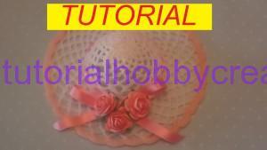 Tutorial per realizzare un cappellino all'uncinetto inamidato (1)anteprima