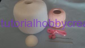 Tutorial per realizzare un cappellino all'uncinetto inamidato (3)
