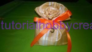Tutorial per realizzare un sacchettino in tessuto portaconfetti 11