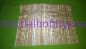 Tutorial per realizzare un sacchettino in tessuto portaconfetti 2