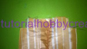 Tutorial per realizzare un sacchettino in tessuto portaconfetti 7