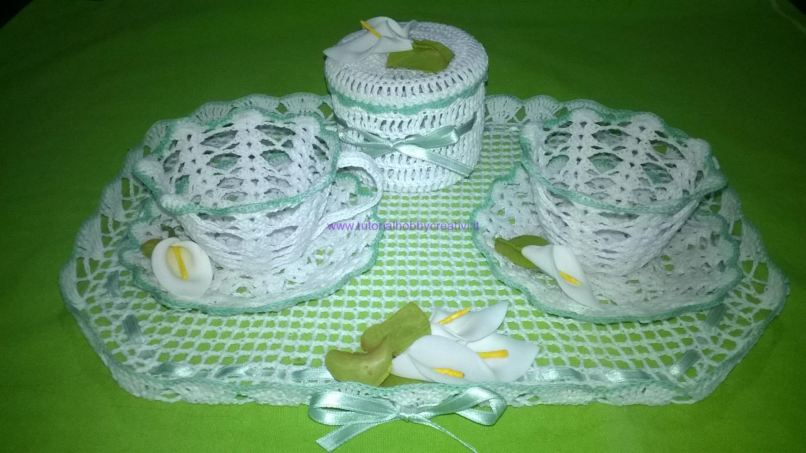 Tutorial Per Realizzare Una Tazza Alluncinetto Inamidata Tutorial