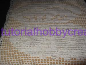 tutorial per realizzare un cuscino portafedi a filet modello ostrica con perle (5)