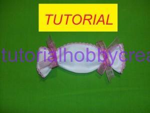 tutorial per realizzare un sacchettino portaconfetti caramela (1)