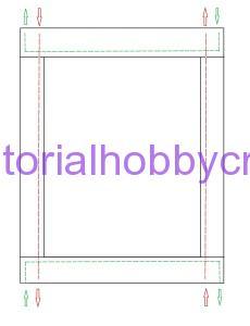tutorial per realizzare una copertina in cotonina e tela aida (16)
