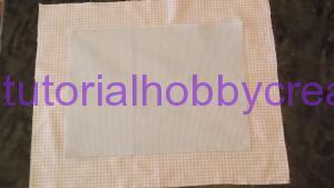 tutorial per realizzare una copertina in cotonina e tela aida (5)