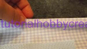 tutorial per realizzare una copertina in cotonina e tela aida (8)