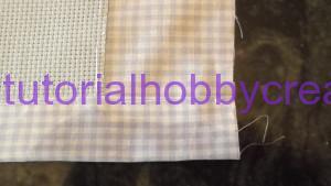 tutorial per realizzare una copertina in cotonina e tela aida (9)
