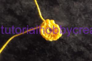tutorial per realizzare una piccola campana all'uncinetto inamidata (3)