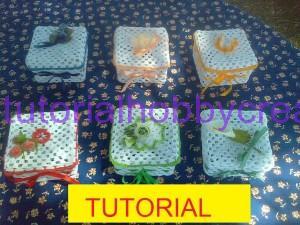 tutorial per realizzare una scatola quadrata all'uncinetto inamidata  (1)anteprima