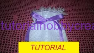 tutorial sacchettino tela aida con frange e passanastro (1) anteprima