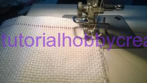 tutorial sacchettino tela aida con frange e passanastro (3)