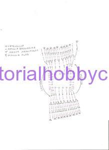 Tutorial per realizzare un mini vestitino all'uncinetto bomboniera nascita battesimo  (1 a)
