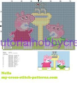 Tutorial per realizzare un libro gioco per bambini in tela aida ricamato a punto croce (10)