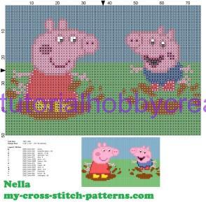 Tutorial per realizzare un libro gioco per bambini in tela aida ricamato a punto croce (6)