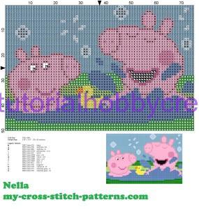 Tutorial per realizzare un libro gioco per bambini in tela aida ricamato a punto croce (8)