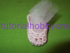tutorial per realizzare delle mini scarpette da ballo per bomboniera (21)