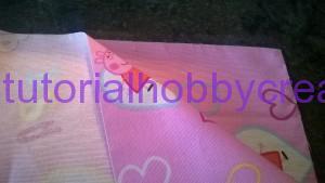 Tutorial per realizzare un sacchetto asilo con inserto in tela aida da ricamare a punto croce (10)