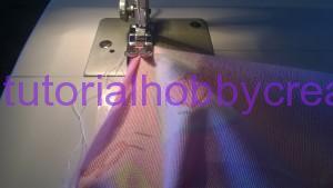 Tutorial per realizzare un sacchetto asilo con inserto in tela aida da ricamare a punto croce (12)