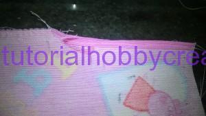 Tutorial per realizzare un sacchetto asilo con inserto in tela aida da ricamare a punto croce (13)
