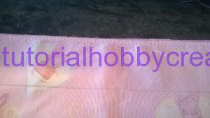Tutorial per realizzare un sacchetto asilo con inserto in tela aida da ricamare a punto croce (14)