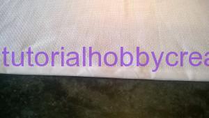 Tutorial per realizzare un sacchetto asilo con inserto in tela aida da ricamare a punto croce (3)