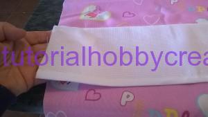 Tutorial per realizzare un sacchetto asilo con inserto in tela aida da ricamare a punto croce (6)