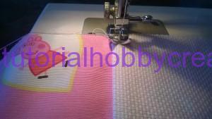 Tutorial per realizzare un sacchetto asilo con inserto in tela aida da ricamare a punto croce (7)
